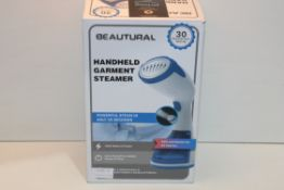BOXED BEAUTURAL HANDHELD GARMENT STEAMER Condition ReportAppraisal Available on Request- All Items