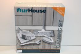 BOXED 5 PIECE CLEANING SET Condition ReportAppraisal Available on Request- All Items are Unchecked/