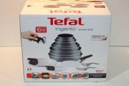 BOXED TEFAL INGENIO ESSENTIAL PAN SET Condition ReportAppraisal Available on Request- All Items