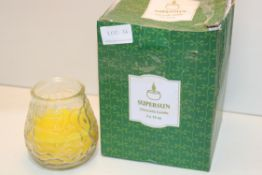 BOXED SUPERSUN CITRONELLA CANDLESCondition ReportAppraisal Available on Request- All Items are