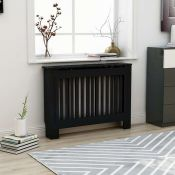 BOXED JAYLYNN MEDIUM RADIATOR COVER IN BLACK RRP £92.42Condition ReportAppraisal Available on