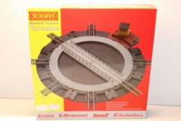BOXED HORNBY ELECTRICALLY OPERATED TURNTABLE RRP £63.02Condition ReportAppraisal Available on
