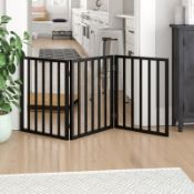 BOXED BOSWICK FREESTANDING PET GATE RRP £31.99Condition ReportAppraisal Available on Request- All
