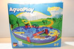 BOXED AQUA PLAY START SET Condition ReportAppraisal Available on Request- All Items are Unchecked/