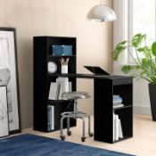 BOXED KORINA DESK IN BLACK RRP £189.99 Condition ReportAppraisal Available on Request- All Items are