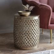 BOXED WF SIDE TABLE COPODANNO RRP £112.99Condition ReportAppraisal Available on Request- All Items
