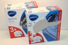 2X BOXED BRITA MARELLA WATER FILTER JUGS 2.4L COMBINED RRP £60.00Condition ReportAppraisal Available