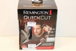 BOXED REMINGTON QUICK CUT HAIR CLIPPER RRP £34.20Condition ReportAppraisal Available on Request- All