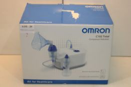 BOXED OMRON C102 TOTAL COMPRESSOR NEBULIZER RRP £59.56Condition ReportAppraisal Available on