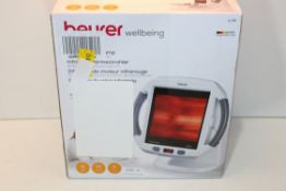 BOXED BEURER WELLBEING INFRARED LAMP MODEL: IL50 RRP £75.39Condition ReportAppraisal Available on