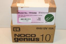 2X ASSORTED ITEMS BOXED Condition ReportAppraisal Available on Request- All Items are Unchecked/