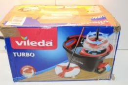 BOXED VILEDA TURBO MOP BUCKET SET RRP £35.00Condition ReportAppraisal Available on Request- All