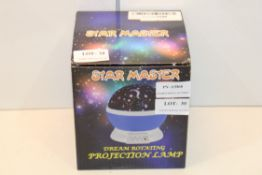 BOXED STAR MASTER PROJECTION LAMP DREAM ROTATING Condition ReportAppraisal Available on Request- All