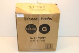 BOXED RUSSELL HOBBS SCANDI 4 LITRE COOLER RRP £39.99Condition ReportAppraisal Available on