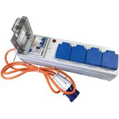 LEISUREWIZE MOBILE MAINS POWER UNIT RRP £54.95Condition ReportAppraisal Available on Request- All