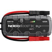 NOCOBOOST GBX155 ULTRASAFE JUMP STARTER RRP £292Condition ReportAppraisal Available on Request-