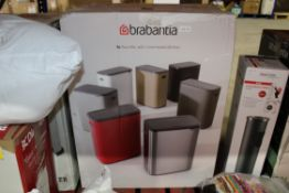 BRABANTIA BO TOUCH BIN 60 LITRE RRP £139.99Condition ReportAppraisal Available on Request- All Items
