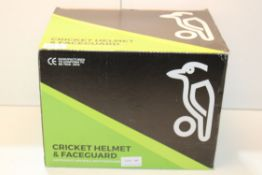 CRICKET HELMET & FACEGUARD RRP £20Condition ReportAppraisal Available on Request- All Items are