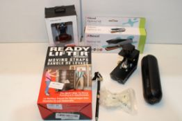 X 7 ASSORTED ITEMS TO INCLUDE READY LIFTER, REZEL STAPLER, CYCPLUS & OTHERSCondition ReportAppraisal