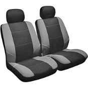 SAKURA FRONT PAIR SEAT COVERS MODERN SPORTS DESIGN RRP £9.99Condition ReportAppraisal Available on