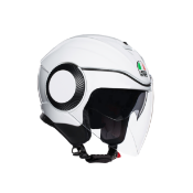 AGV MOTORCYCLE HELMETORBYT PEARL WHITE SIZE LARGE RRP £98Condition ReportAppraisal Available on