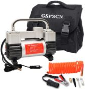 GSPSCN VEHICE TIRE AIR INFLATOR SEALED BRAND NEW RRP £73Condition ReportAppraisal Available on
