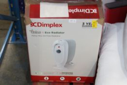 DIMPLEX ECO RADIATOR 700W MINI OIL FREE RADIATOR RRP £64.99Condition ReportAppraisal Available on