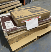 ONE PALLET TO CONTAIN A LARGE AMOUNT OF B.E.R TV'S, SALVAGE STOCK (32974)