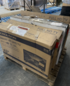 ONE PALLET TO CONTAIN A LARGE AMOUNT OF B.E.R TV'S, SALVAGE STOCK (5179)