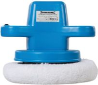 SILVERLINE 110W ORBITAL CAR POLISHER 240MM RRP £28Condition ReportAppraisal Available on Request-