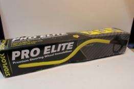 PRO ELITE STEERING WHEEL IMMOBILISER RRP £45Condition ReportAppraisal Available on Request- All