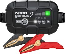 NOCO GENIUS 2 BATTERY CHARGER + MAINTAINER RRP £49.95Condition ReportAppraisal Available on Request-