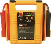 RAC 400 AMP RECHARGEABLE JUP START SYSTEM RRP £44Condition ReportAppraisal Available on Request- All