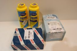 X 4 ITEMS TO INCLUDE BOSCH ITEM, DR SCHOLLS SOOTHING FOOT POWDERSCondition ReportAppraisal Available