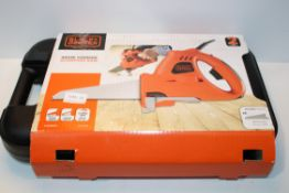 BOXED BLACK & DECKER 400W CORDED SCORPION SAW RRP £45.00Condition ReportAppraisal Available on