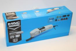 BOXED MAC ALLISTER MULTI TOOL MODEL: MSMT300 RRP £40.00Condition ReportAppraisal Available on