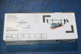 BOXED 600MM MITRE SAW Condition ReportAppraisal Available on Request- All Items are Unchecked/