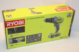 BOXED RYOBI 18V ONE+ PERCUSSION DRILL RRP £109.00Condition ReportAppraisal Available on Request- All