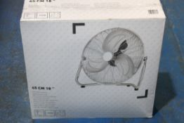 """BOXED B&Q 45CM 18"""" AIR CIRCULATOR 110W RRP £54.99Condition ReportAppraisal Available on Request- All"""