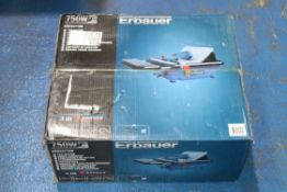 BOXED ERBAUER 750W TILE CUTTER MODEL: ERB337TCB RRP £99.00Condition ReportAppraisal Available on