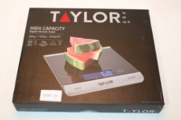 BOXED TAYLOR PRO HIGH CAPACITY DIGITAL KITCHEN SCALE Condition ReportAppraisal Available on Request-
