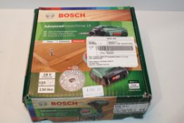 BOXED BOSCH ADVANCED IMPACT DRIVE 18 CORDLESS IMPACT DRIVER RRP £140.00Condition ReportAppraisal