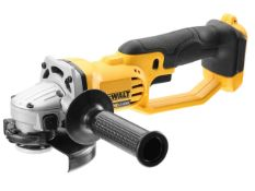 DEWALT 18V LITHIUM ION DCG412N RRP £110Condition ReportAppraisal Available on Request- All Items are