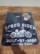 BRAND NEW JACAMO SPEED RIDER BUILT-BY-JAND CUSTOM BIKES T-SHIRT SIZE 4XLCondition ReportBRAND NEW