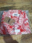 BRAND NEW JACAMO RED LEAFY SHIRT SIZE XL (CW420)Condition ReportBRAND NEW