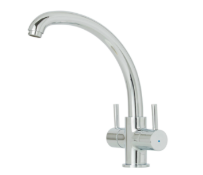 COOKE&LEWIS ESTATOAH TWIN MIXER TAP RRP £50Condition ReportAppraisal Available on Request- All Items