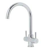 COOKE&LEWIS AMSEL TWIN MIXER TAP RRP £45Condition ReportAppraisal Available on Request- All Items
