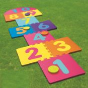 GIANT HOPSCOTCH GAME £7.38Condition ReportAppraisal Available on Request- All Items are Unchecked/