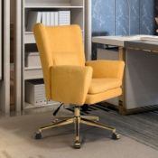 BOXED FURNITURE R SANGALI GINGER MIDDLE OFFICE CHAIR 4133 RRP £237.99 (AS SEEN IN WAYFAIR)