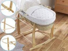 BOXED CLAR DE LUNE MOSES BASKET RRP £29.99Condition ReportAppraisal Available on Request- All